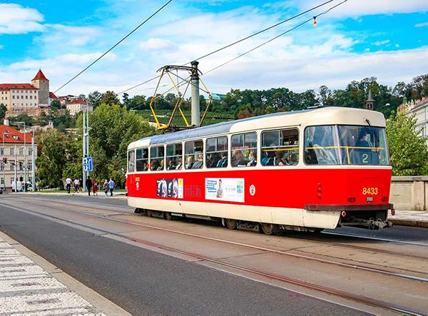 Öffentliche Verkehrsmittel in Prag